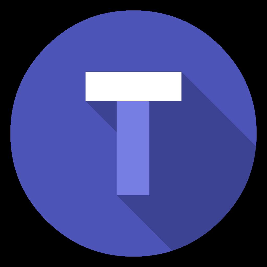 Ms Teams flat icon