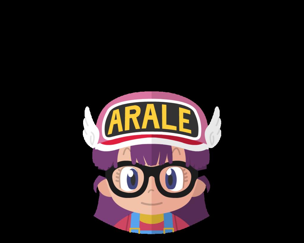 Arale flat icon