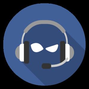 TeamSpeak flat icon