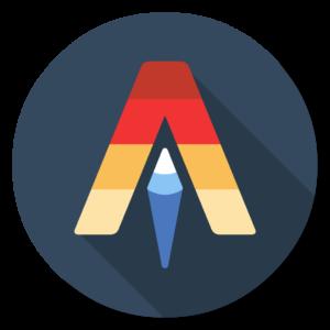 Alacritty flat icon