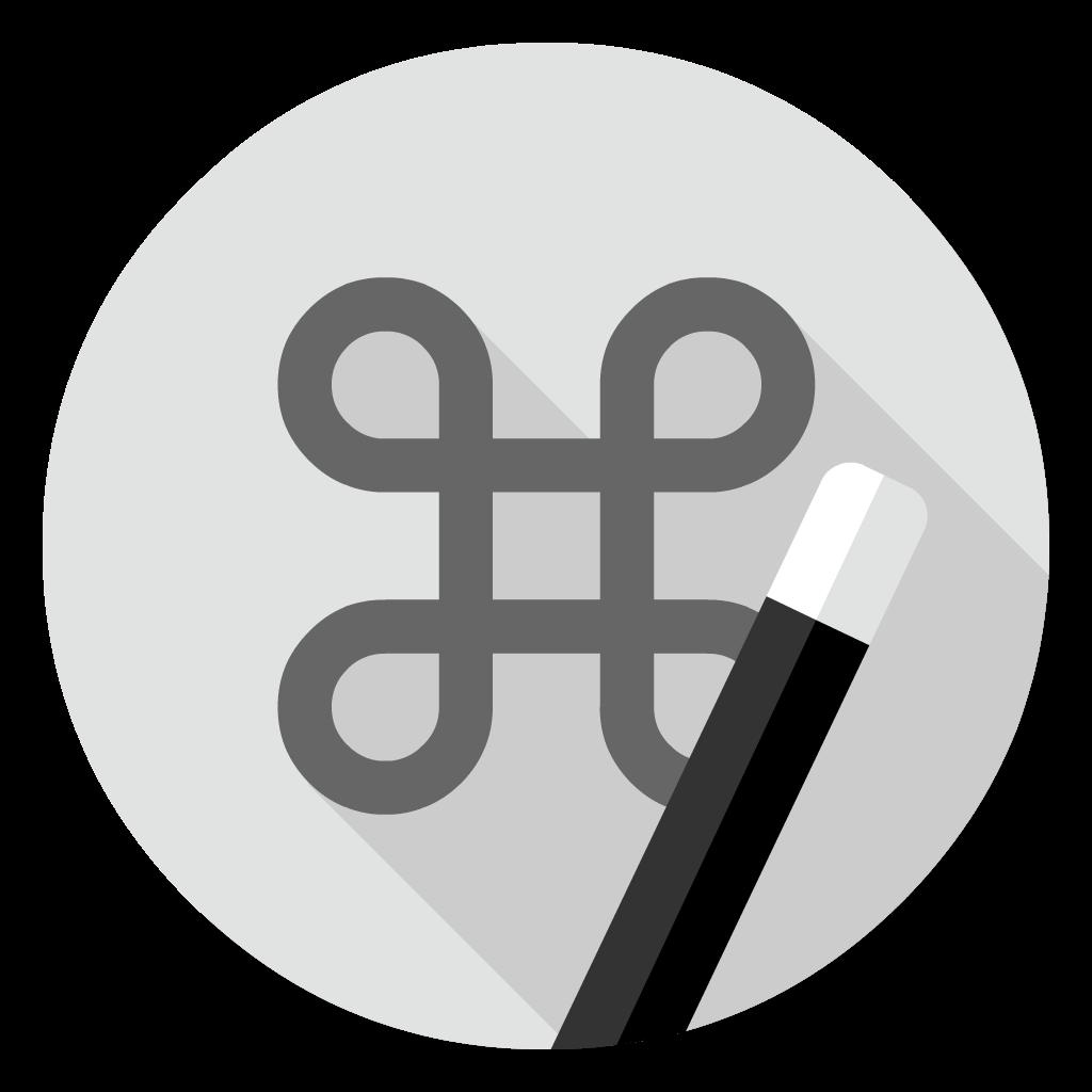 Keyboard Maestro flat icon