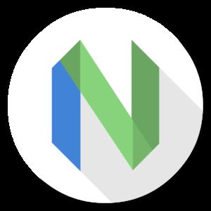 Neovim flat icon