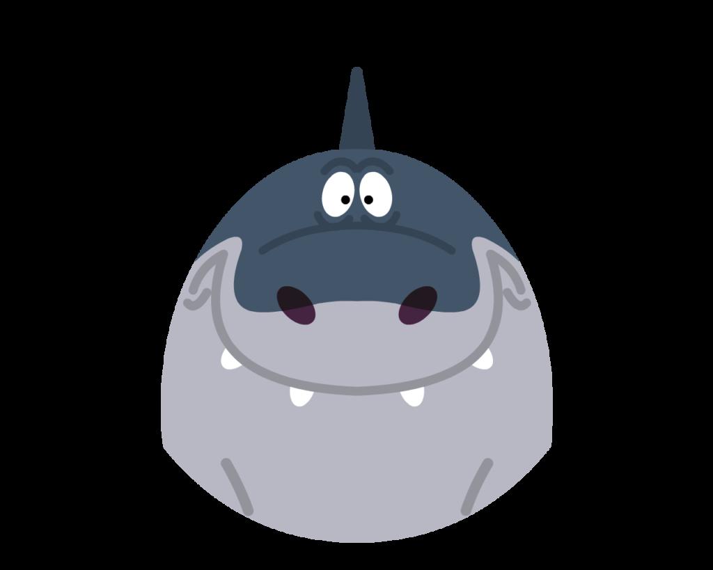 Sharko flat icon