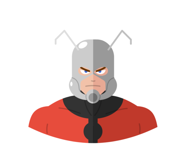 Ant-Man flat icon