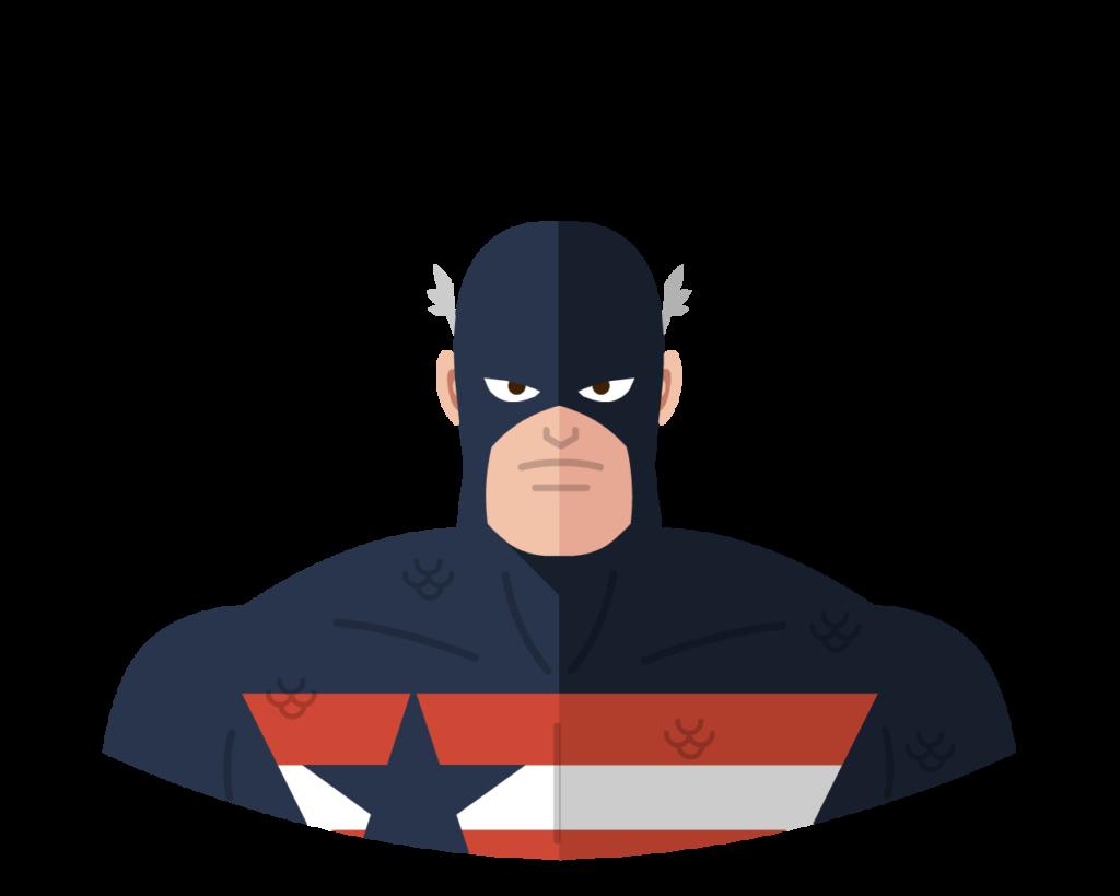 U.S. Agent flat icon