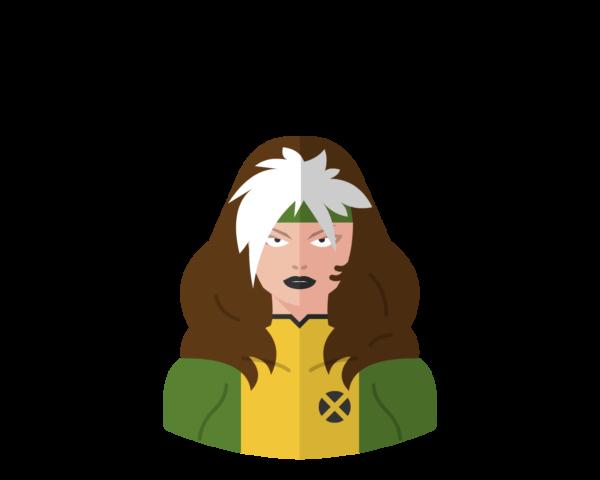 Rogue flat icon