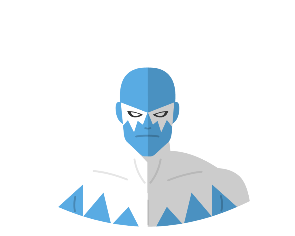 Blizzard flat icon