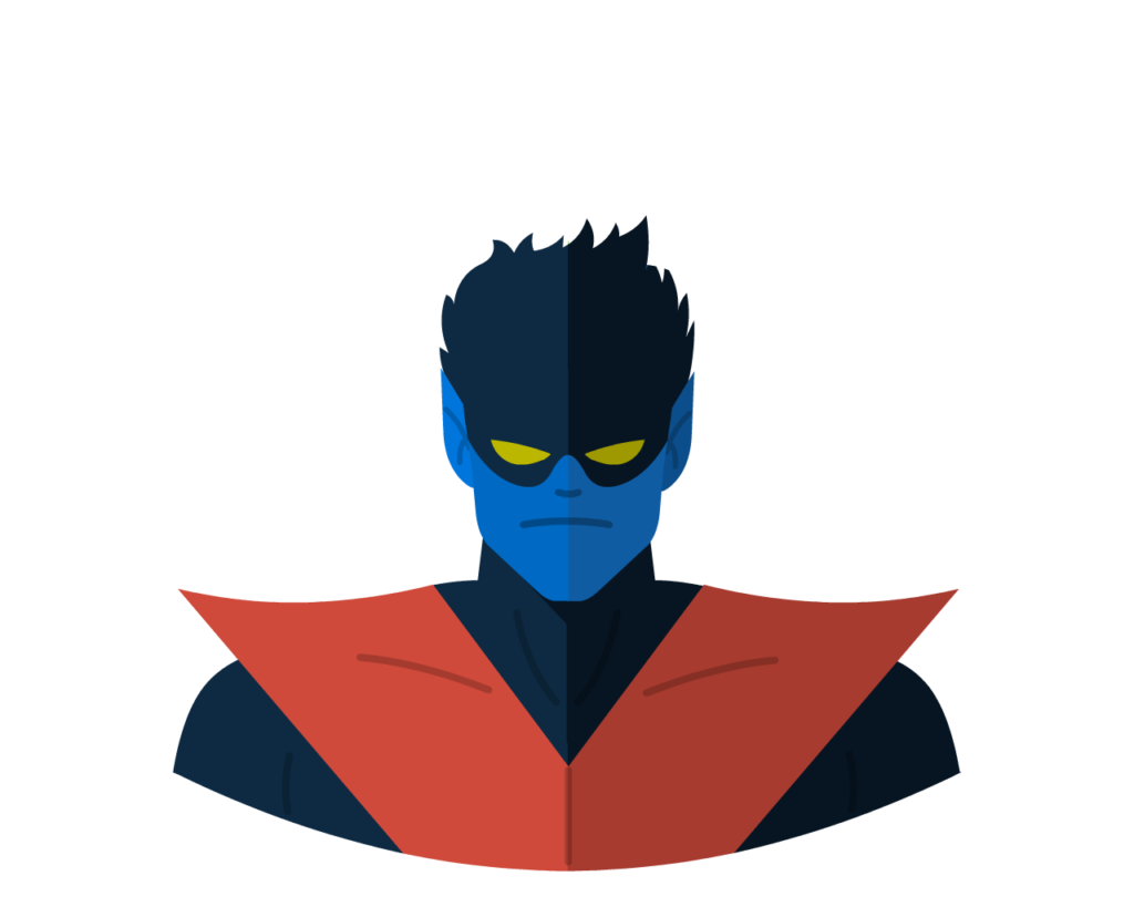 Nightcrawler flat icon