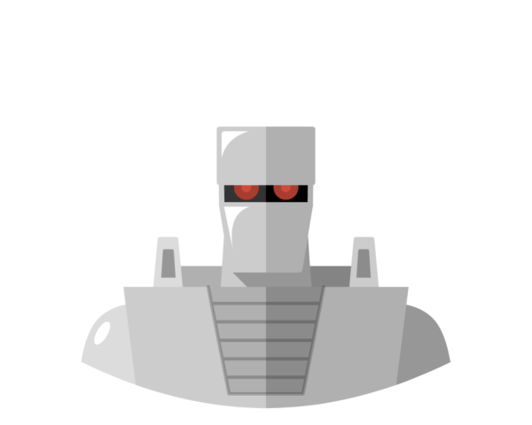 Rom the Spaceknight flat icon