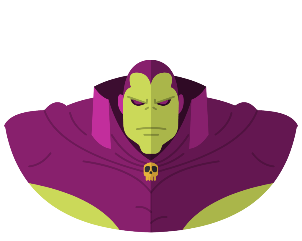 Drax the Destroyer flat icon