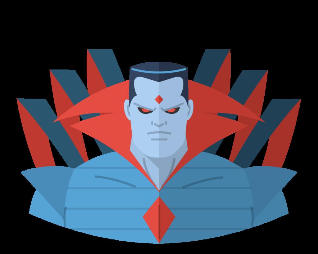Sinister (Mr) flat icon