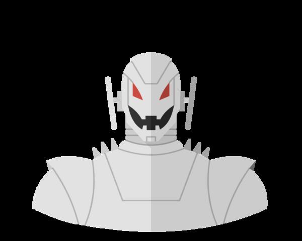 Ultron flat icon