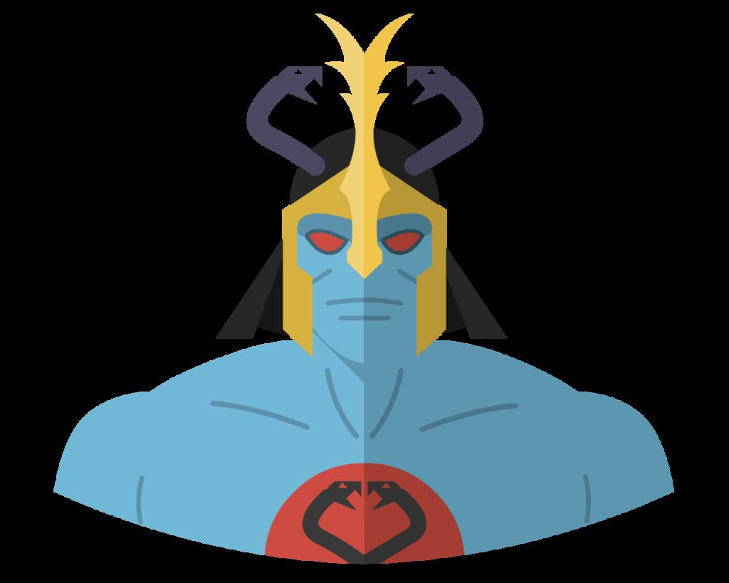 Mumm-Ra flat icon
