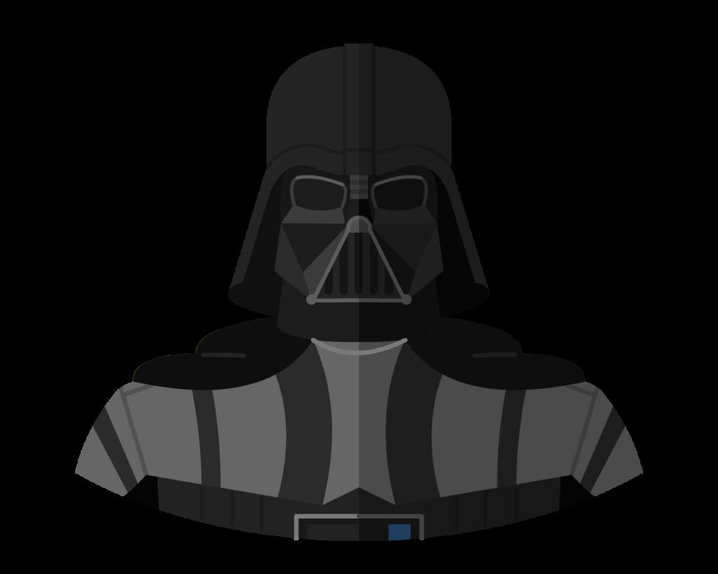Darth Vader flat icon