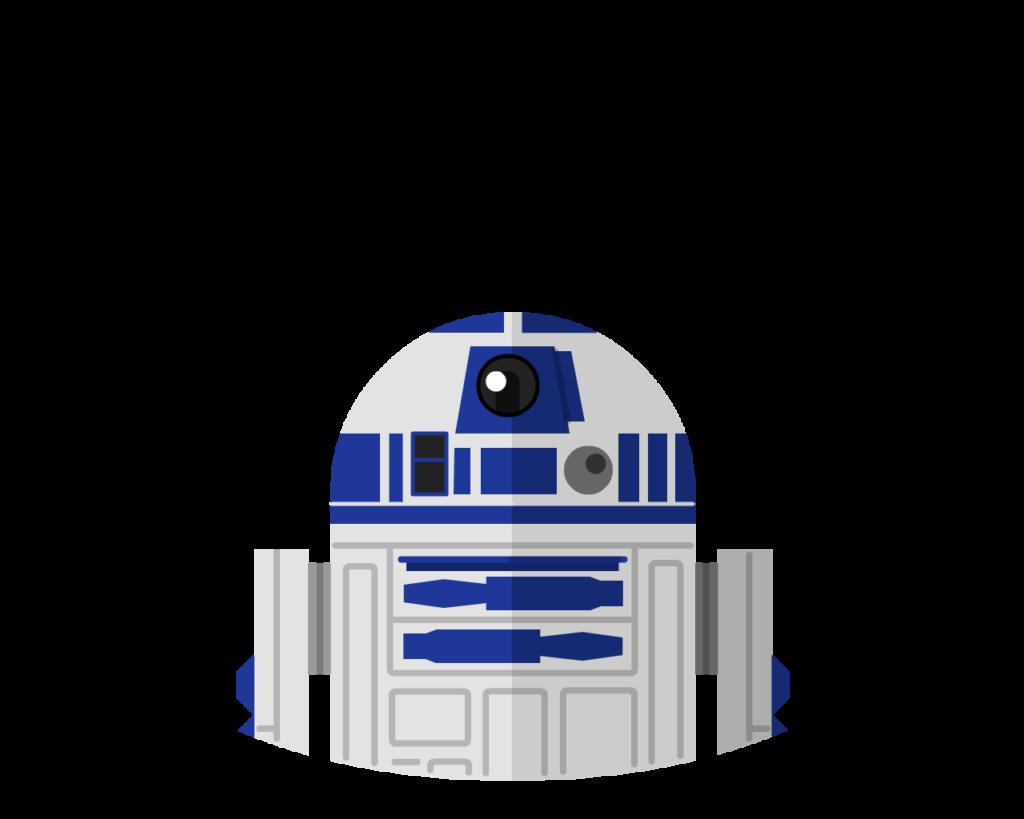 R2-D2 flat icon