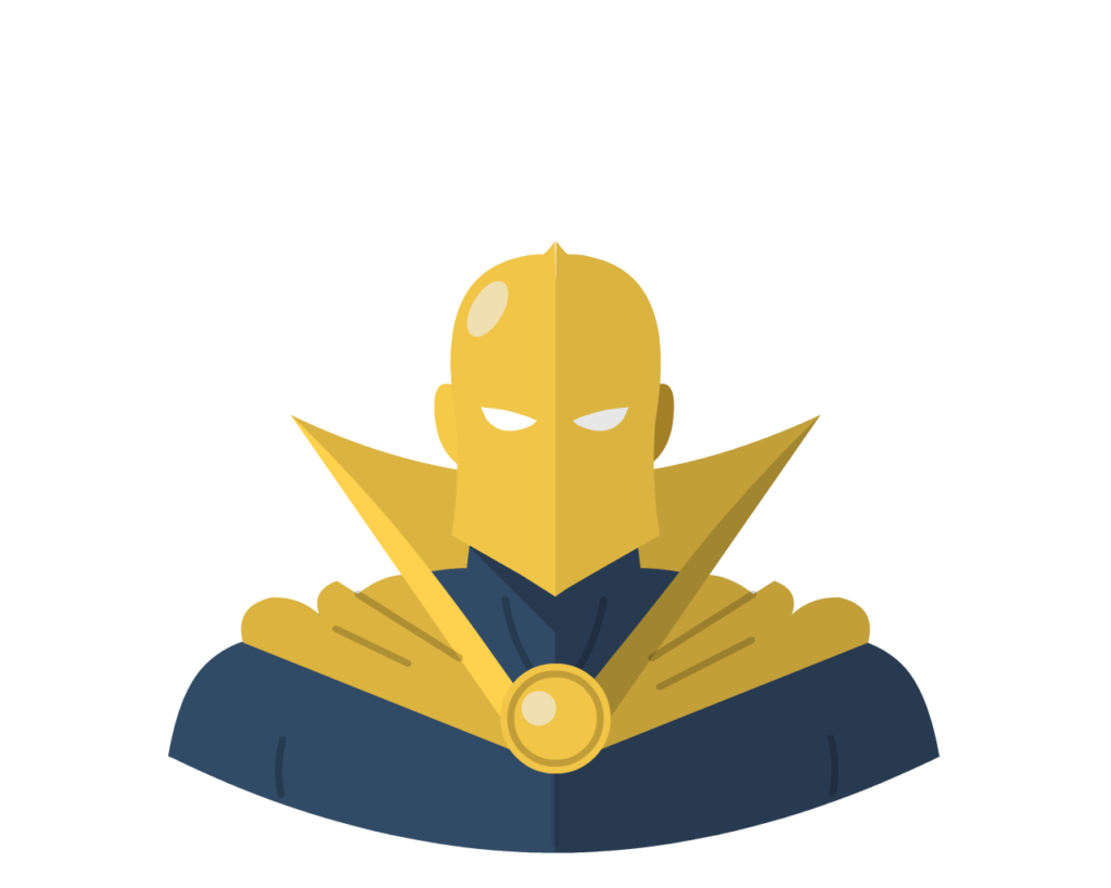 Dr Fate flat icon