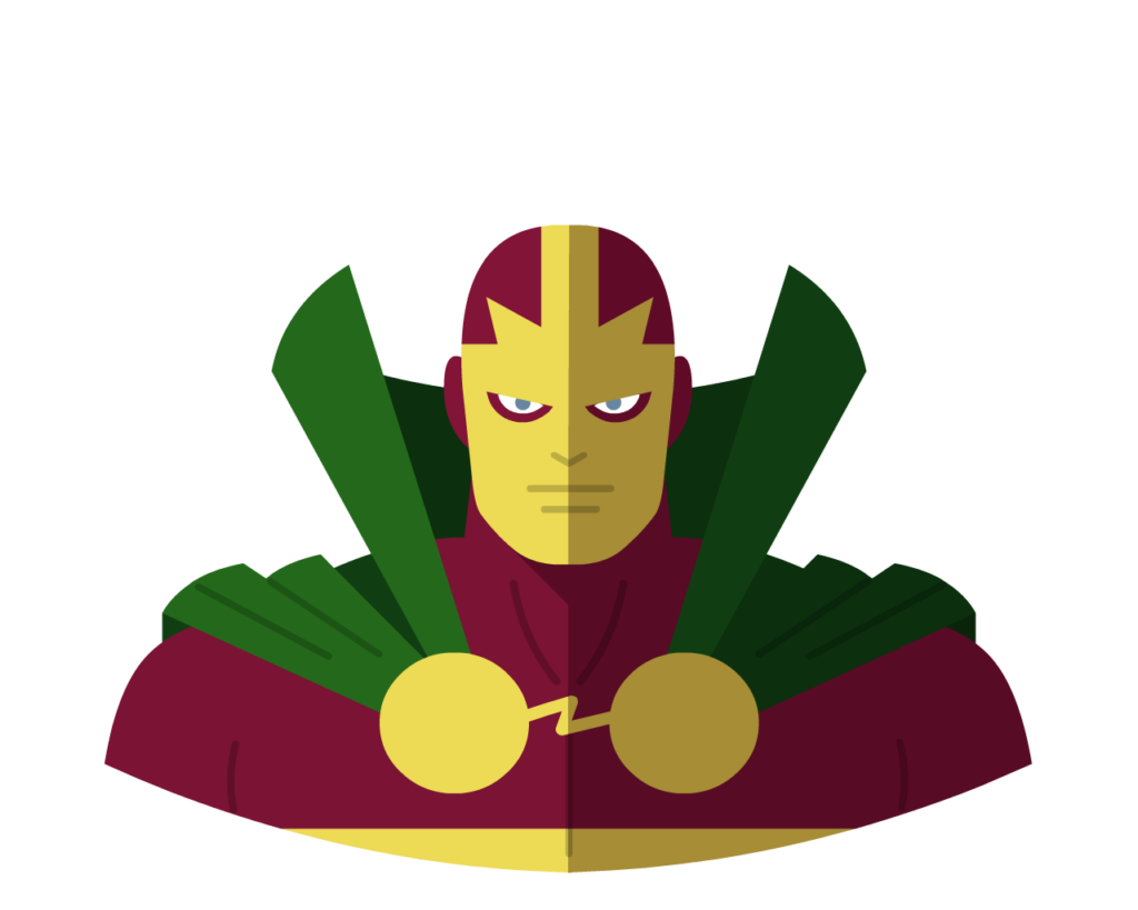Mr Miracle flat icon