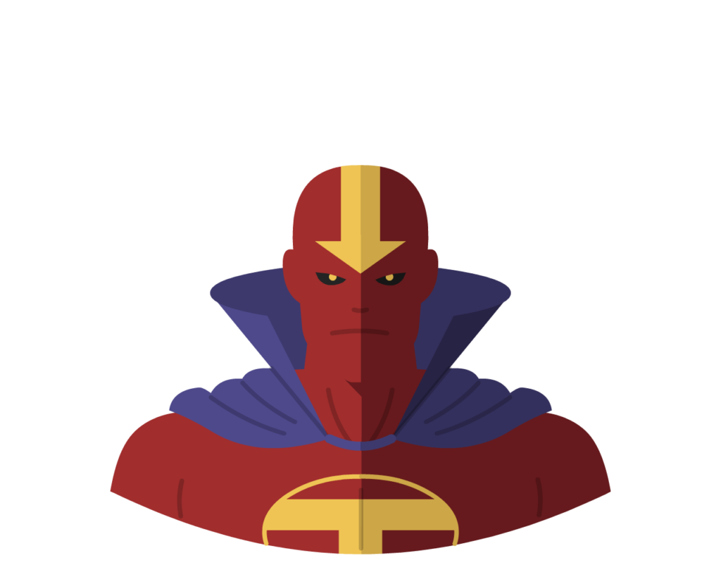 Red Tornado flat icon
