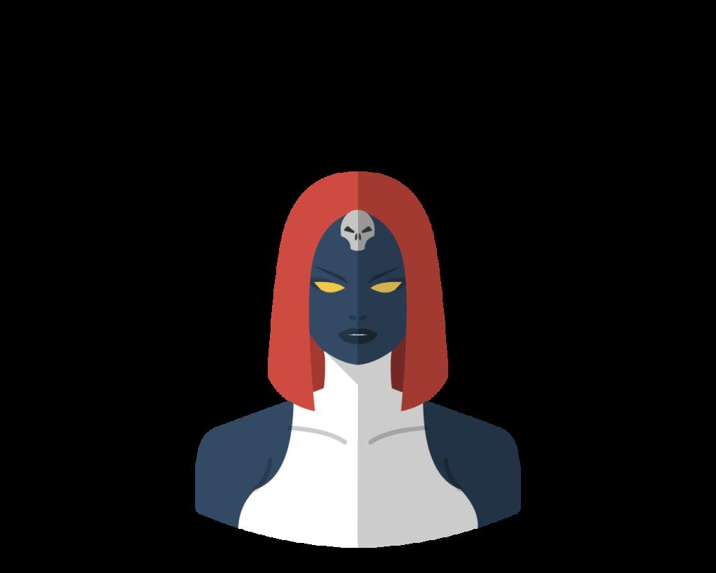 Mystique flat icon
