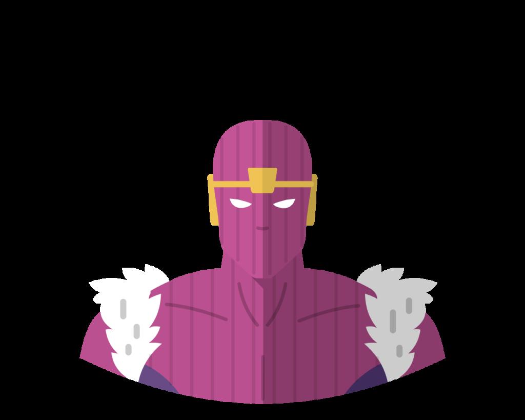 Baron Zemo flat icon