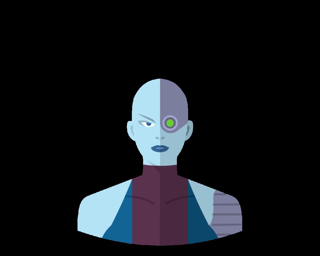 Nebula flat icon