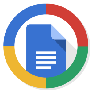 Google Docs flat icon