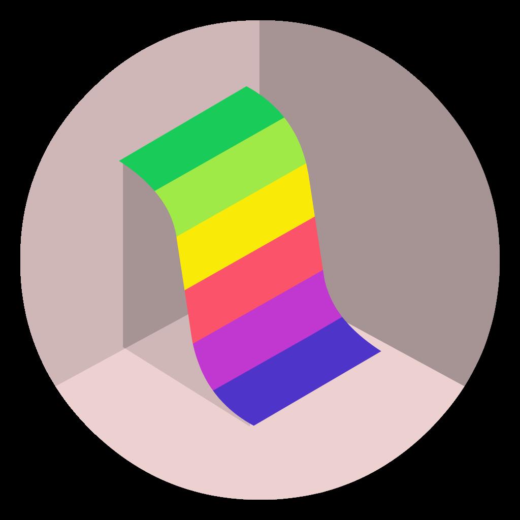 Grapher flat icon