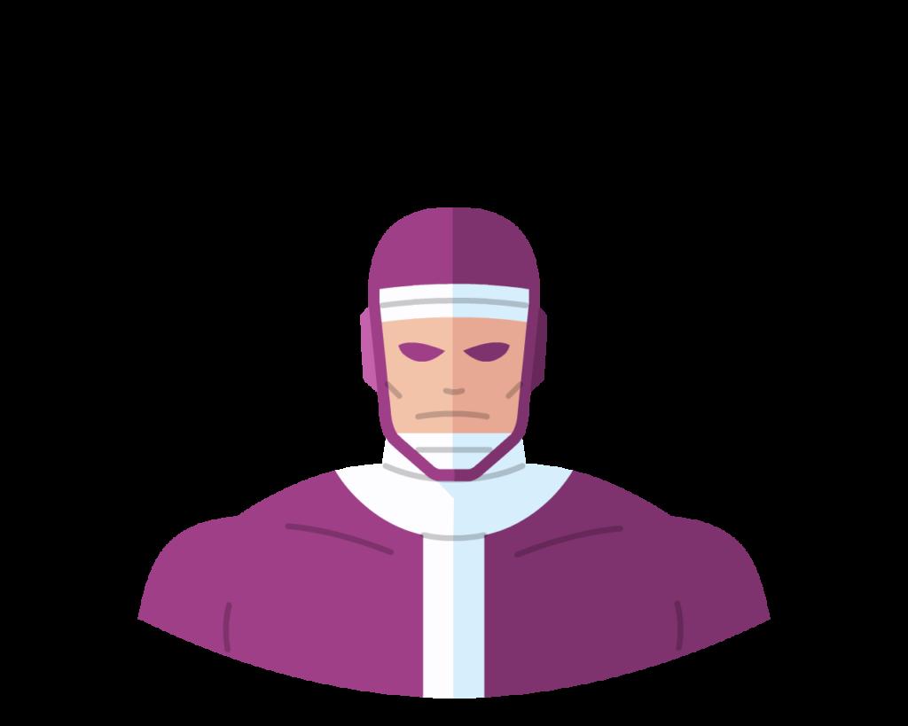 Machine Man flat icon