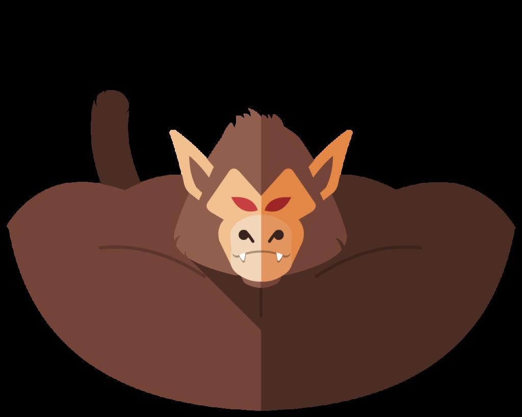 Oozaru flat icon